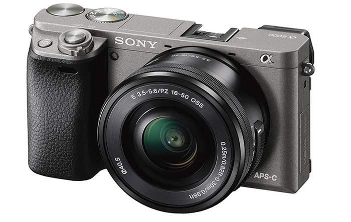 Cámara de fotos Sony Alpha 6000