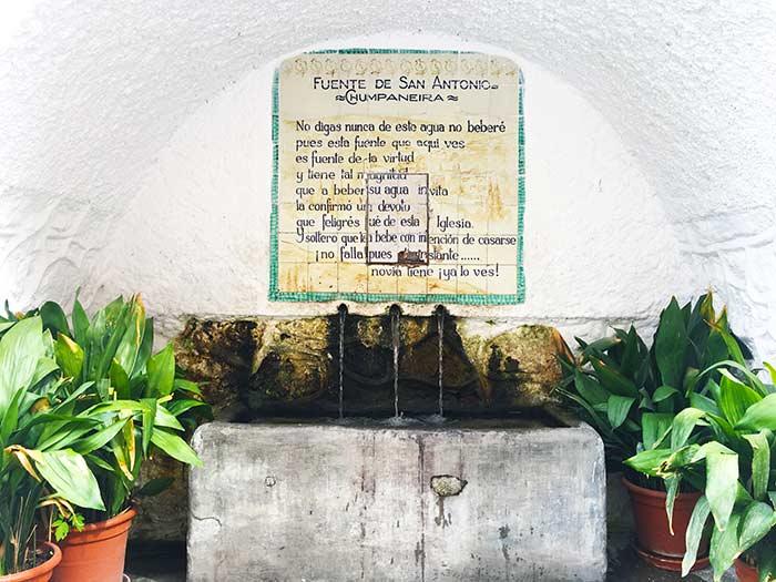 Fuente Chumpaneira en Pampaneira, Alpujarra Granadina