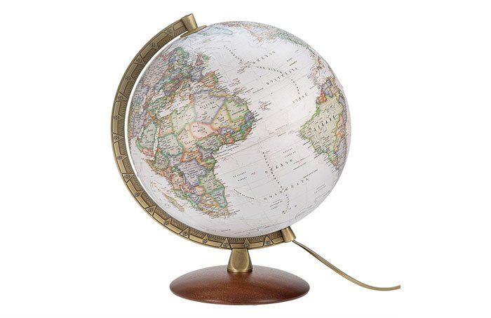 Globo terráqueo - regalos para viajeros