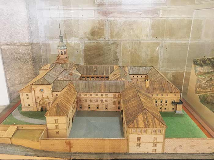 Maqueta del Monasterio de Yuso, San Millán de la Cogolla, La Rioja