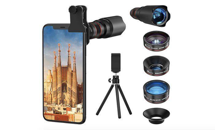 Objetivos y gadgets para el móvil