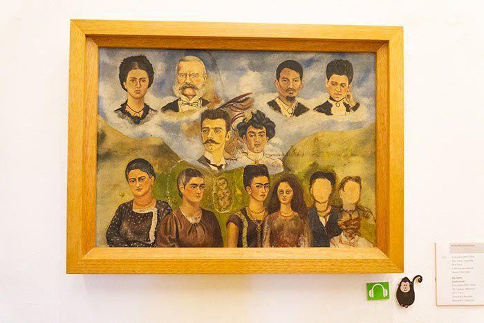 "Cuadro ""Mi familia"", de Frida Kahlo"