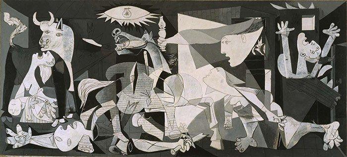 """""""El Gernica"""", Pablo Picasso en el Museo Reina Sofía, Madrid"""