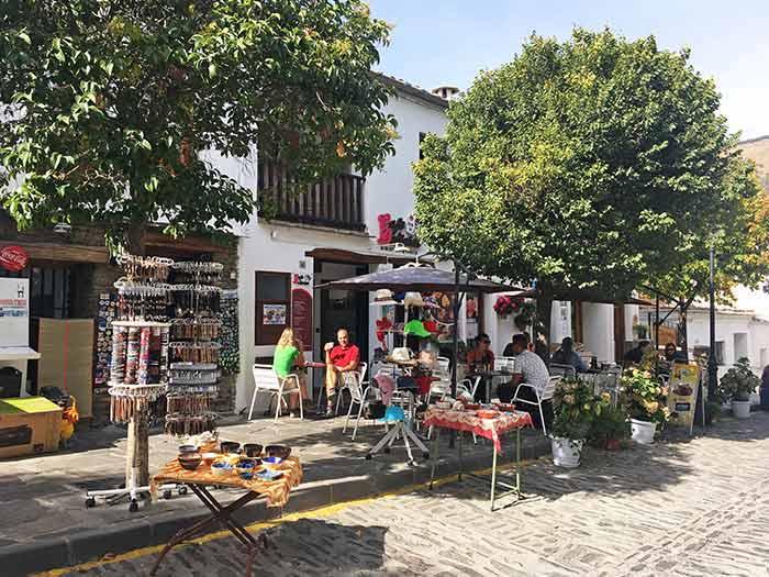 Tiendas en Capileira