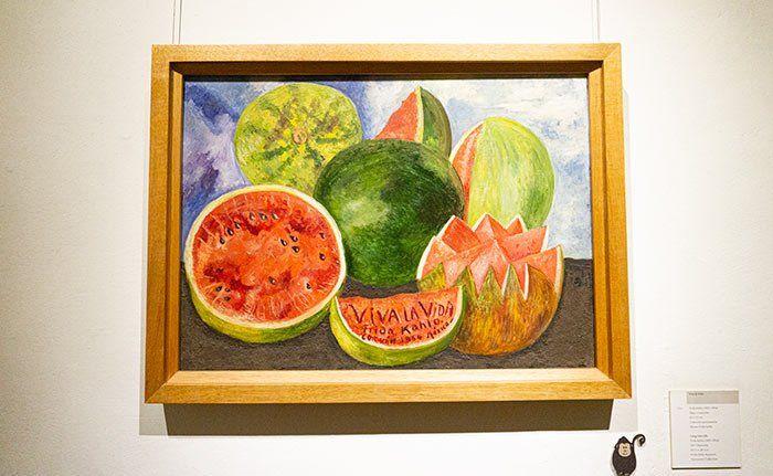 """Cuadro """"Viva la vida"""", de Frida Kahlo"""