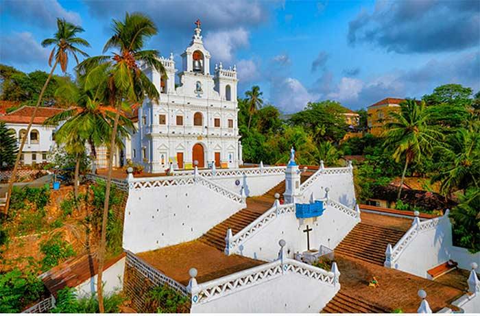 Iglesia en Panjim, Goa