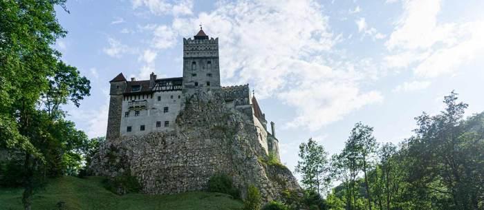 Panorámica del castillo de Drácula
