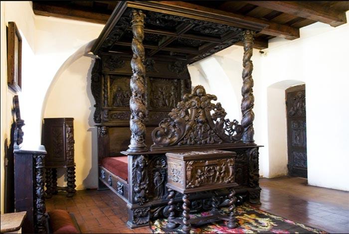 Habitación del castillo de Drácula