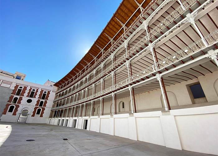 Frontón Beti Jai, uno de los secretos de Madrid.