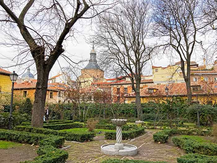 Jardín de Anglona, un secreto de Madrid