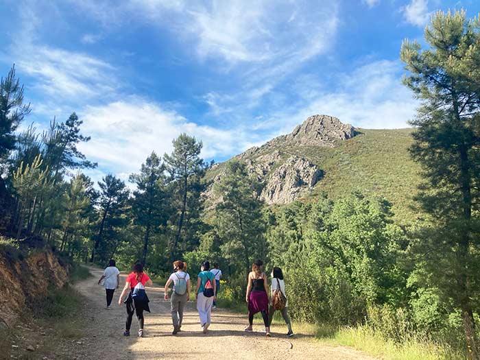 Ruta de senderism por el Geoparque Villuercas Ibores Jara