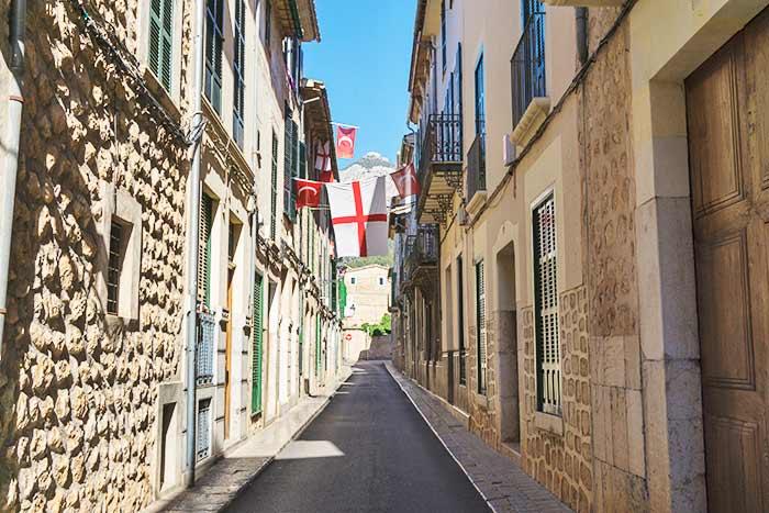 Calle de Sóller, Mallorca