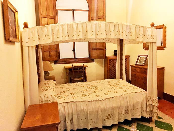 Habitación en el Castillo de la Mota, Medina del Campo