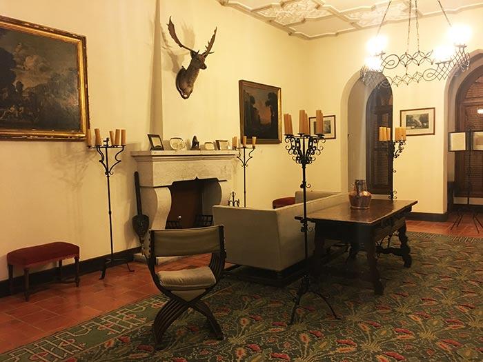 Sala visitable en el Castillo de la Mota, Medina del Campo