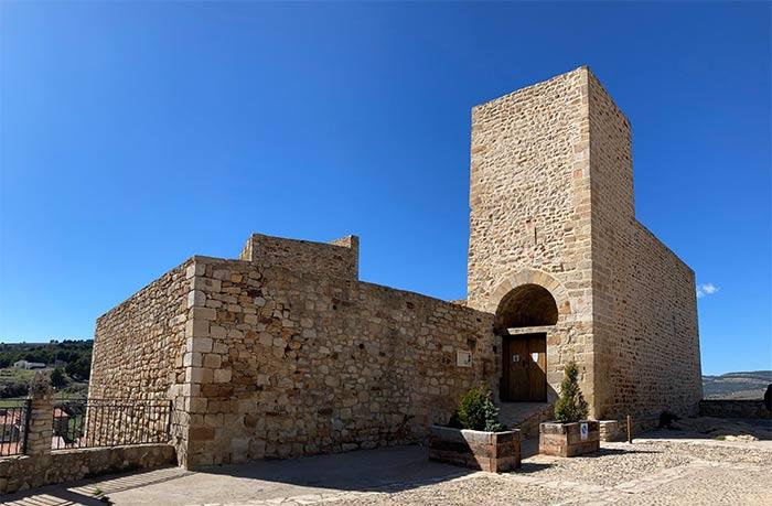 Exterior del Castillo de Puertomingalvo
