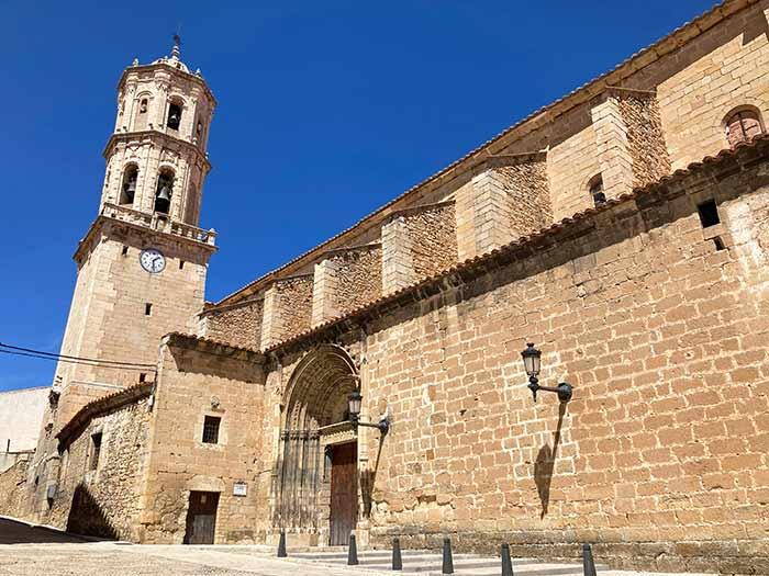 Iglesia parroquial de Mosqueruela, Gúdar Javalambre