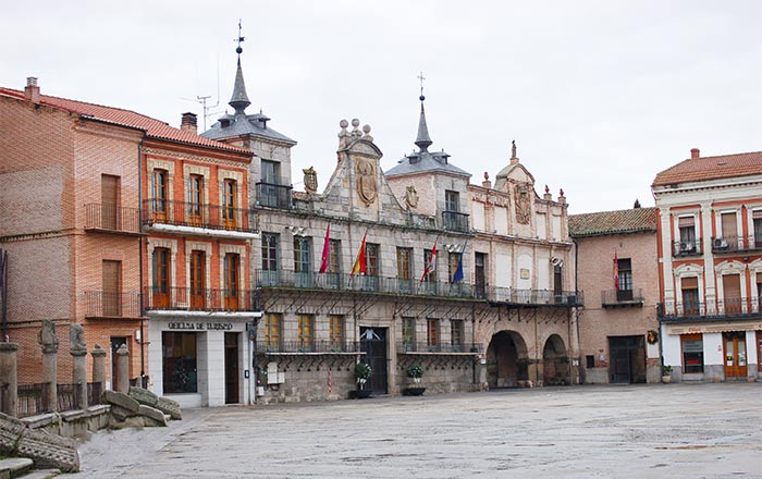 Plaza de la Hispanidad, Medina del Campo