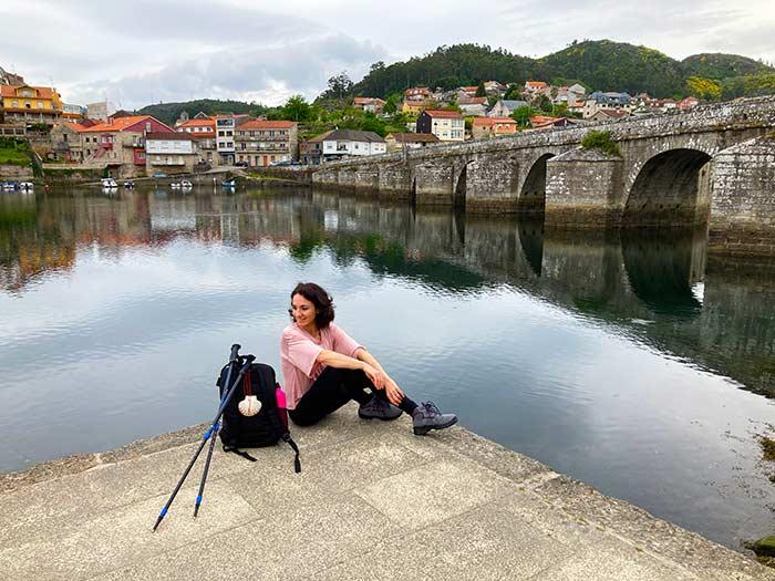 Algunas de las poblaciones bonitas que se cruzan en las últimas etapas del Camino Portugués a Santiago