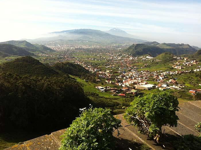 Vistas impresionantes. La Laguna, Tenerife