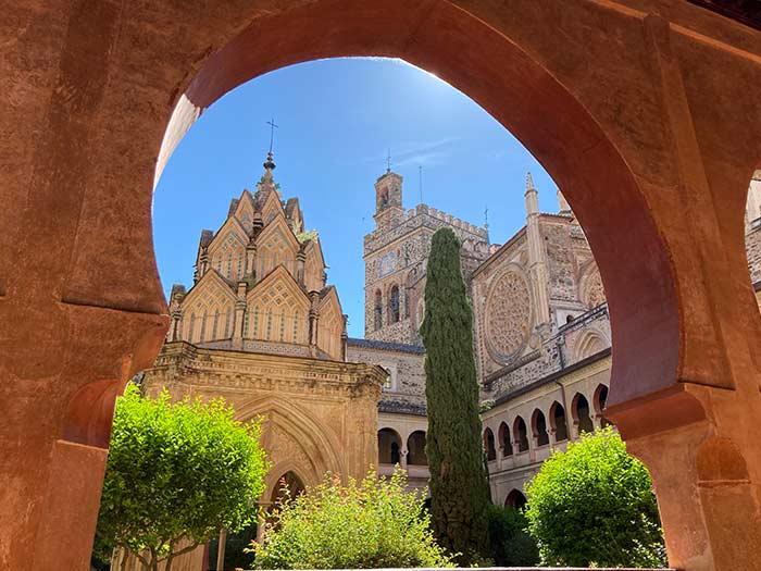 Claustro del Real Monasterio de Guadalupe