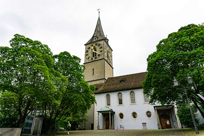 Iglesia de San Pedro, Zúrich