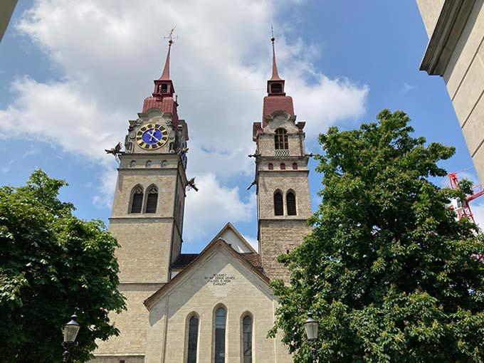 Iglesia parroquial de Winterthur