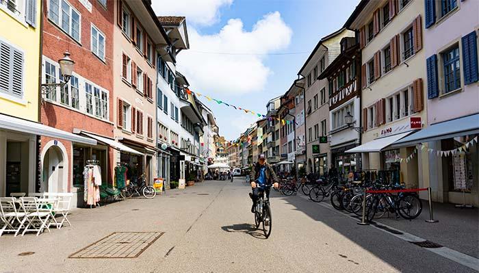 Calles de Winterthur