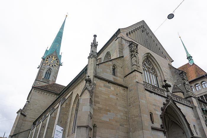 Iglesia Fraumünster, Zúrich