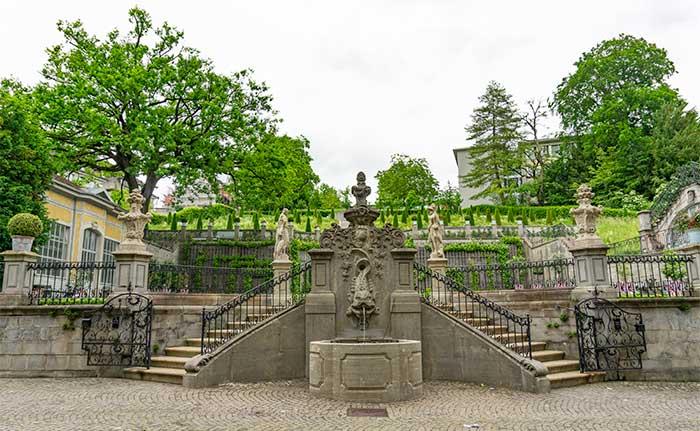 Jardín barroco Rechberg
