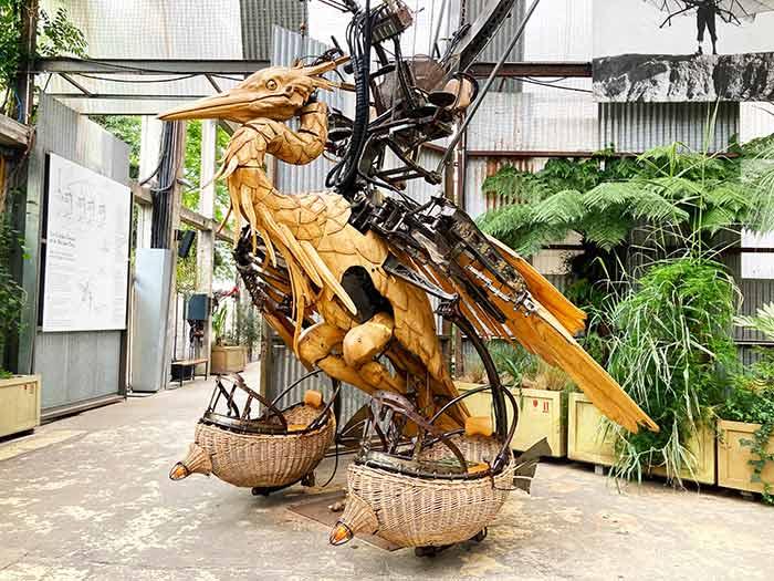 """La Galería en """"las máquinas de la isla"""""""