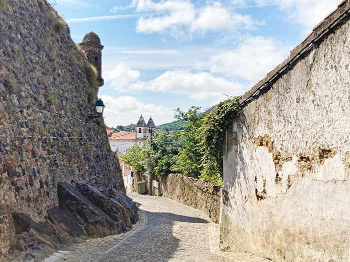 Calles con encanto en Castelo de Vide