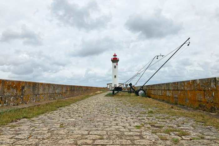 Faro de Saint Nazaire, Francia