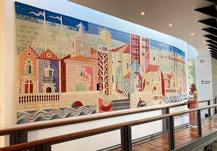 Museo de tapicería en Portalegre, Portugal.