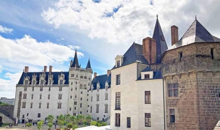 Palacio en el castillo de Nantes