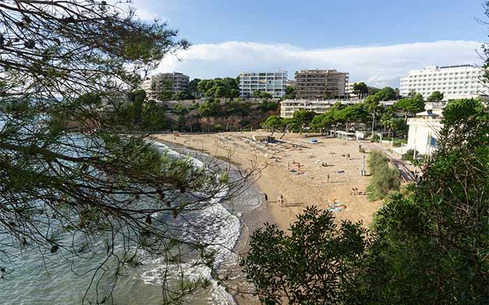 Playa de Capellans, Salou