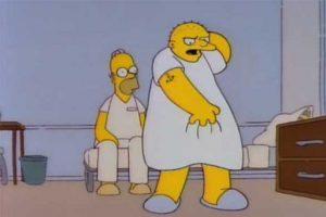 Los Simpsons y Michael Jackson se separan