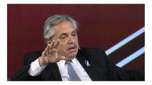 """Alberto Fernández: """"La euforia de los mercados es muchas veces la tristeza de los pueblos"""""""