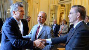 Macri se reúne con Pichetto en Olivos