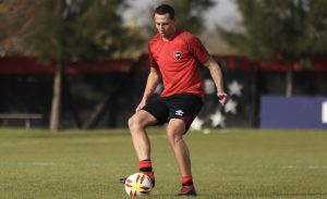 Cristian Lema entrenó con el plantel de Newell's