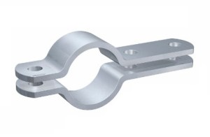 DIN 3567-B steel pipe clamps