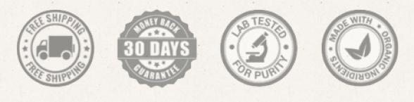 Holistapet CBD Pellets Quality Stamps