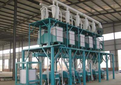 wheat flour mill plant in steel srtucture form