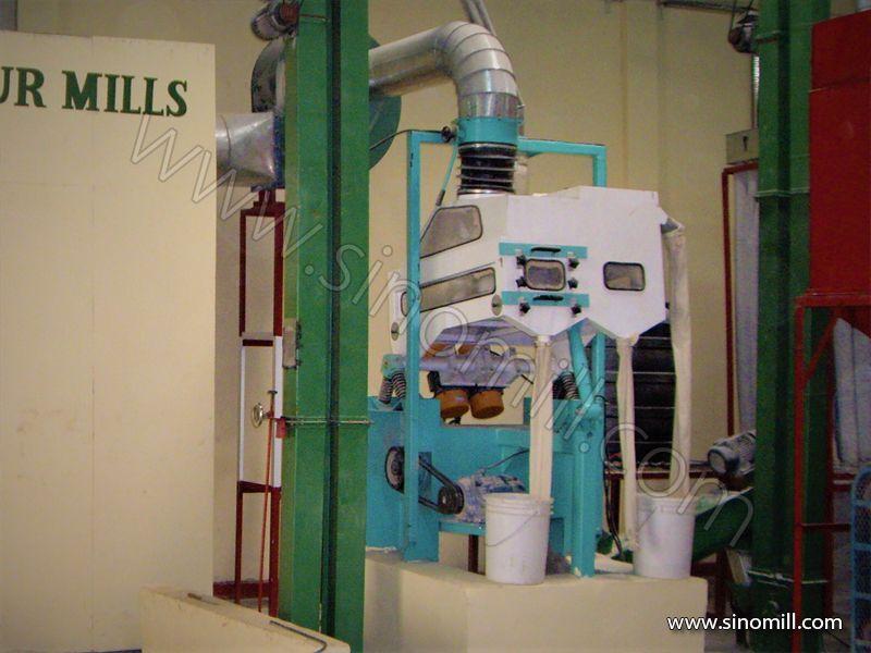 Maize flour Milling Machine Clean Section