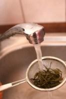 Schritt 1: Tee Spülen