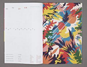 Doppelseite im Magazin