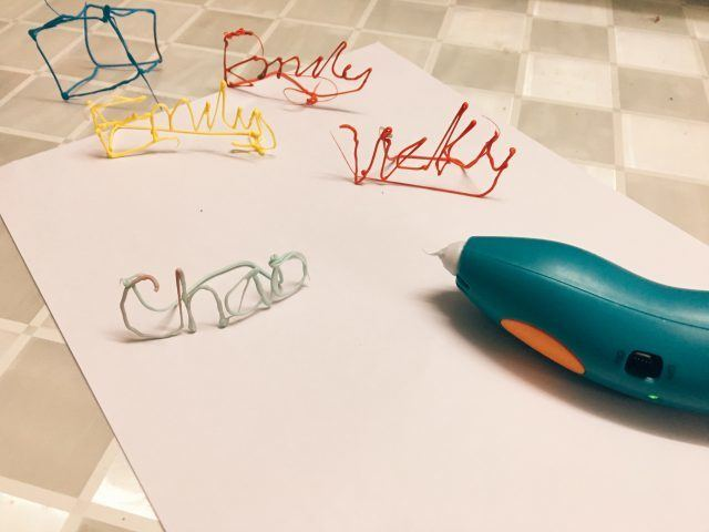 Emily's first 3D names