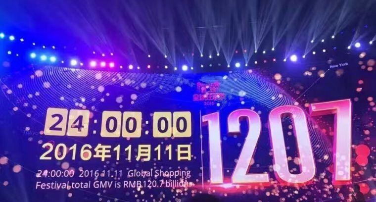New Record on Sales This Year on 2016 Singles' Day