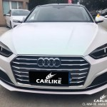 Cl Mw 08 Matte White To Red Car Wrap Vinyl For Audi Sino Vinyl