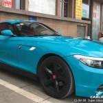 Cl Sv 39 Super Gloss Crystal Miami Blue Automobile Vinyl Wrap Gloss For Bmw Tunisia Sino Vinyl