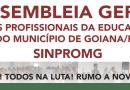 PRIMEIRA ASSEMBLÉIA SINPROMG 2019